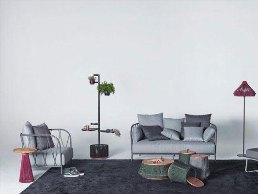 Bàn ghế sofa bằng sắt