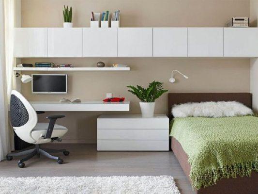 thiết kế phòng ngủ 3m2