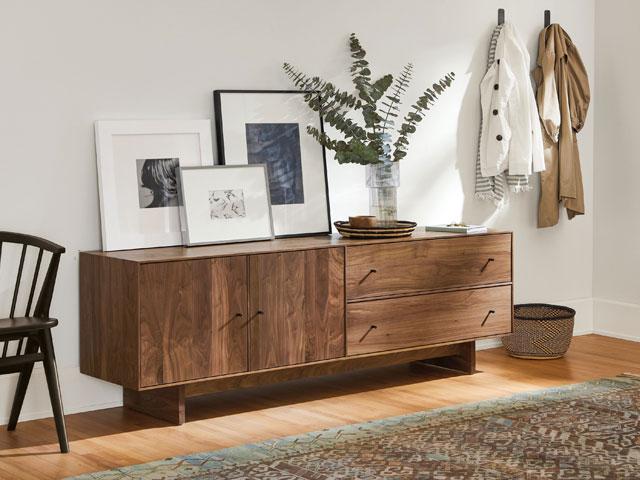 tủ tường đẹp bằng gỗ