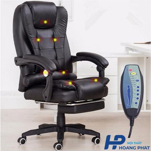 Ghế massage Hoàng Phát với thiết kế nhỏ gọn cho văn phòng