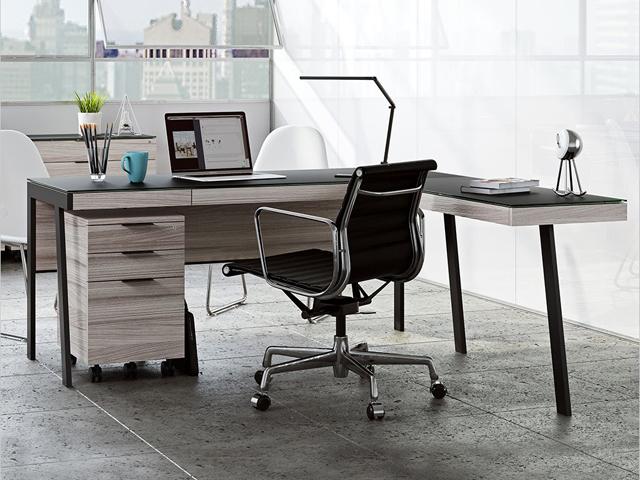 Bàn ghế văn phòng đơn giản rof